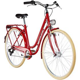 Ortler Detroit EQ 6 velocità Donna, shiny red